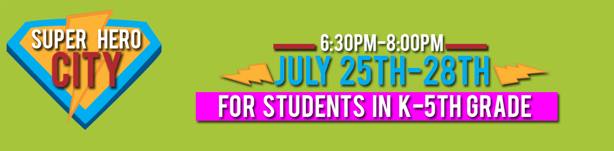 Click Here to Register for VBS!